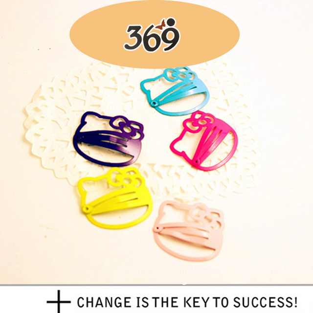 New arrival delicate candy color cute fruit hair clip for women girl children gift