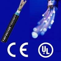 Waterproof outdoor fiber cable with CE and ISO