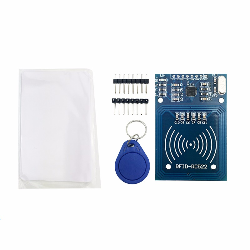 free shipping RC522 MFRC-522 RFID RF IC card sensor module to send S50 Fudan card, keychain for arduino