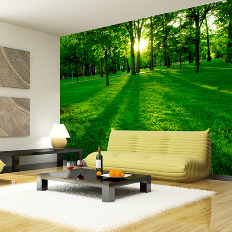 Forest wood landscape trees wallpaper nature photo for 3d wallpaper home decoration