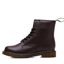 DR. Martens 1460 Martin รองเท้าผู้หญิงและชายรองเท้าคู่หนังข้อเท้า Plus Velvet รองเท้า High - top รองเท้า 34-46(China)