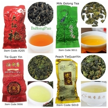 4 kinds milk Oolong Tea DaHongPao da hong pao wholesale milk oolong tea da hong pao milk oolong tea 50g tieguanyin tea Discount