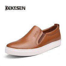 New 2015  Men Casual Shoes Summer  Handmade Genuine Leather Loafers Moccasins Plus size 39-51# zapatos hombre(China (Mainland))