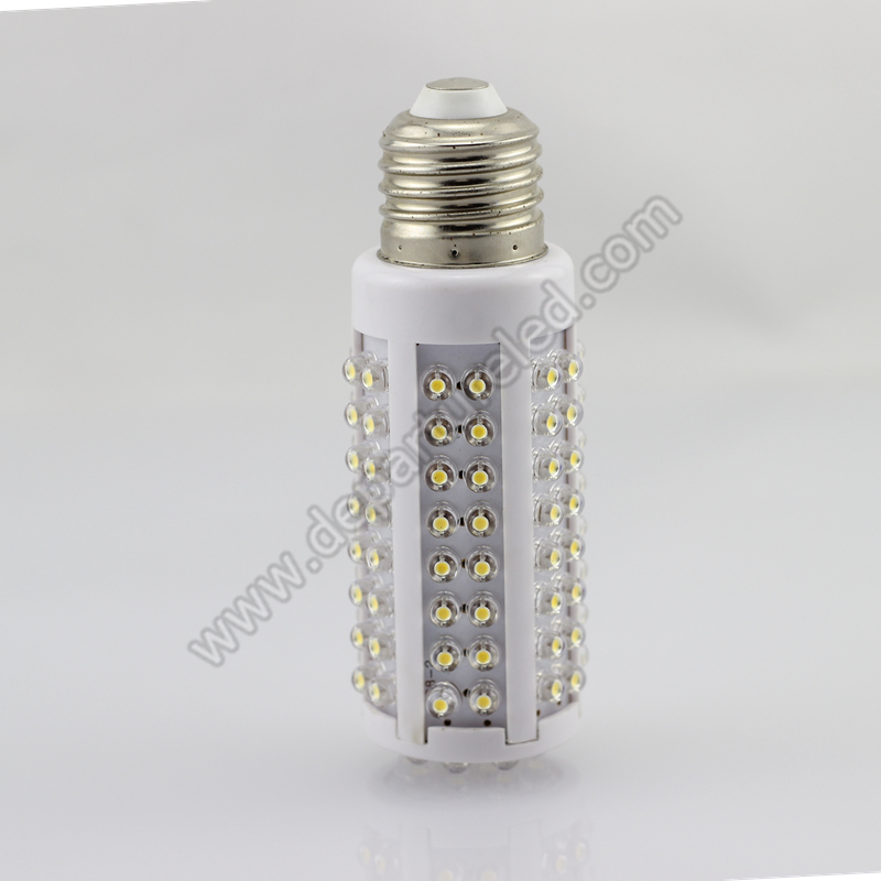 Free shipping 1xpcs  7W E27 220v AC 360degree light Epistar chip DIP lamp bead white corn light