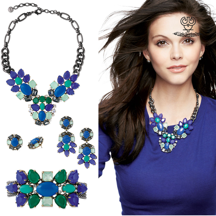 AJ-Set018  Crystal Rhinestone Peacock Necklace Earrings Studs Bracelet  African Jewelry Sets Blue For Lady Vintage Jewelry Sets<br><br>Aliexpress