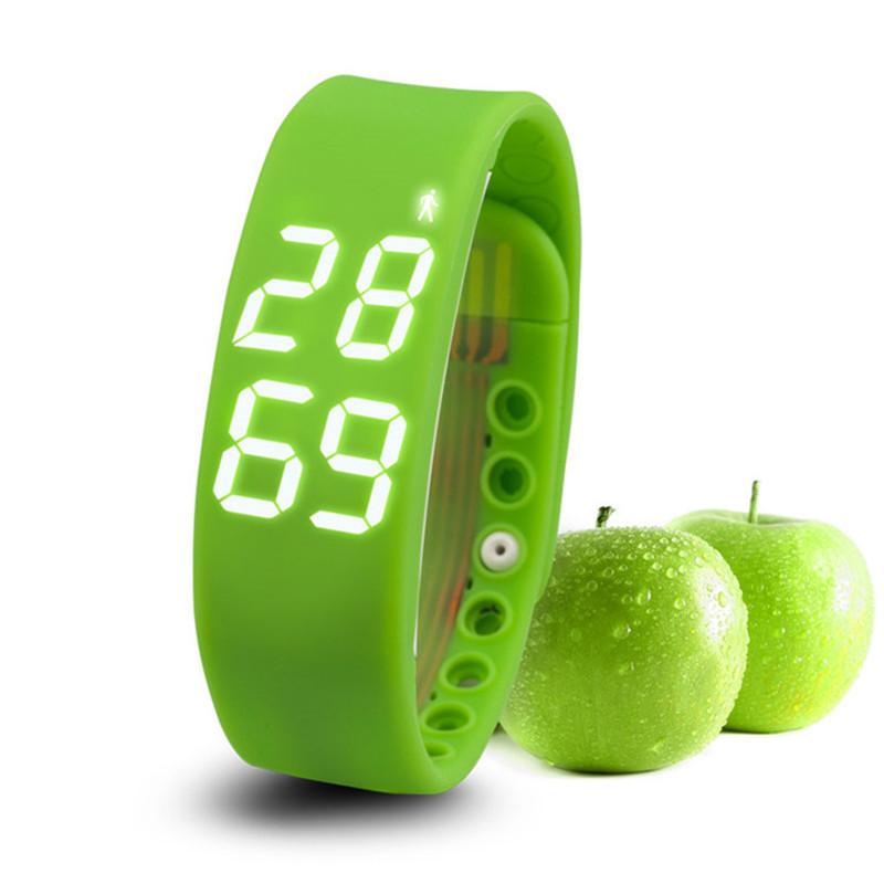 Excellente montre Smart Watch podomètre Walking étape Distance compteur de calories activité Tracker livraison gratuite(China (Mainland))