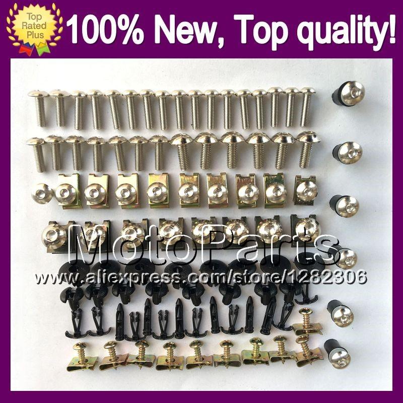 Fairing bolts full screw kit For YAMAHA FZ6 FZ6R 09-13 FZ 6R FZ-6R 09 10 11 12 13 2009 2010 2011 2012 2013 2F/2 Nuts bolt screws