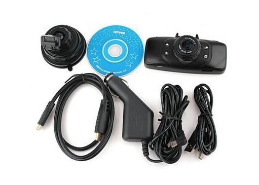 pro Car DVR video Recorder vehicle driving Camera Original Ambarella 1080P Full HD 2.7'' LCD with GPS truck dash cam