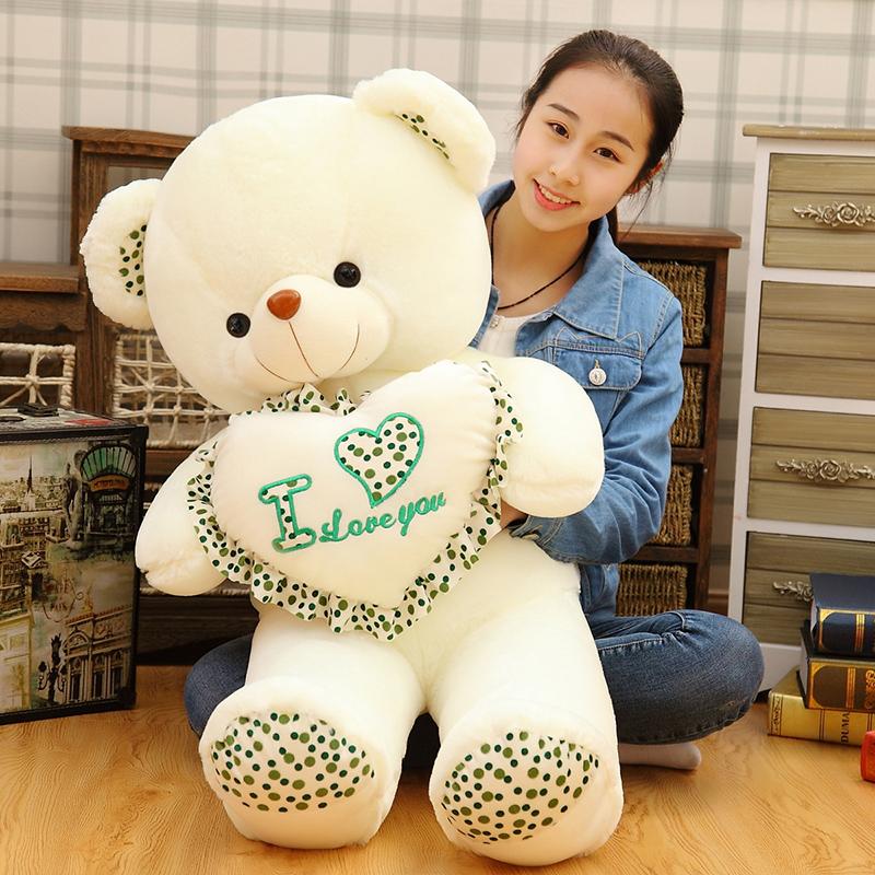 Large plush teddy bear giant panda doll puppet doll dolls child day gift(China (Mainland))