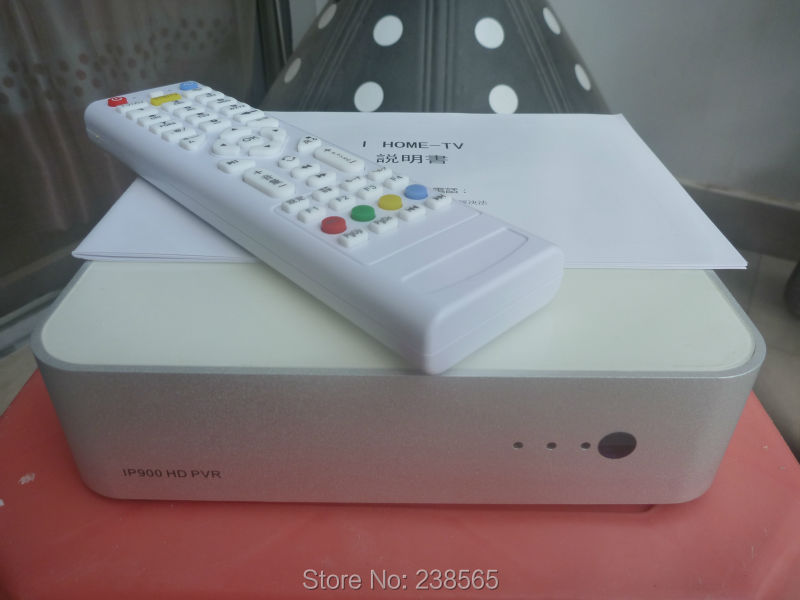 Free shipping Japanese IPTV iHome IP900 HD PVR(720P/1080P) live tv ipbox net media player 5-7 days with playback excluding taxes(China (Mainland))