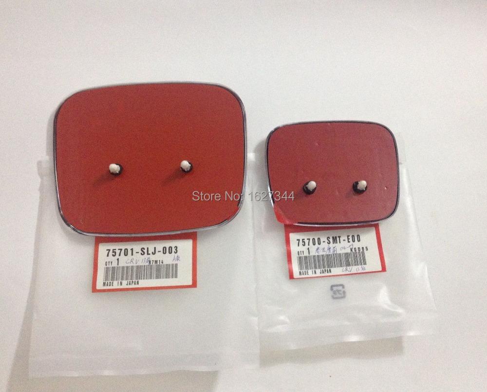 NEW 2pcs  1set OEM  TYPE R  Front Back Red H Emblem  75701-SLJ-003 75700-SMT-E00 <br><br>Aliexpress