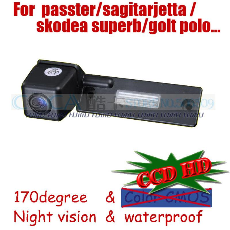 wireless wired car Rear camera for sony ccd Volkswagen VW GOLF PASSAT TOURAN CADDY /SKODA SUPERB/Jetta SAGITAR parking assit(China (Mainland))