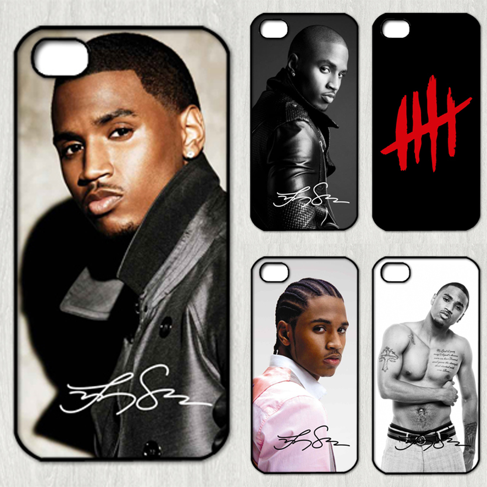 Trey Songz fashion original cell phone Case cover for iphone 4 4S 5 5S SE 5C 6 6S 6plus & 6s Plus(China (Mainland))