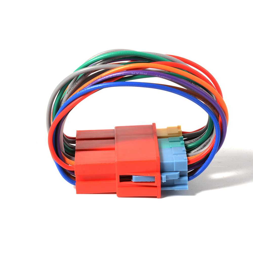 Mini ISO 20Pin Radio Distributor Adapter Cable For Audi A3 A4 A6 A8 8Pin Plug AC371(China (Mainland))