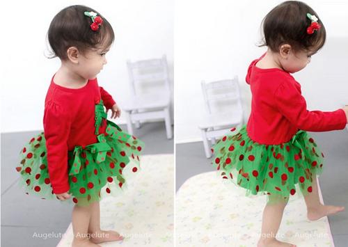 vestidos navidad bebe nina