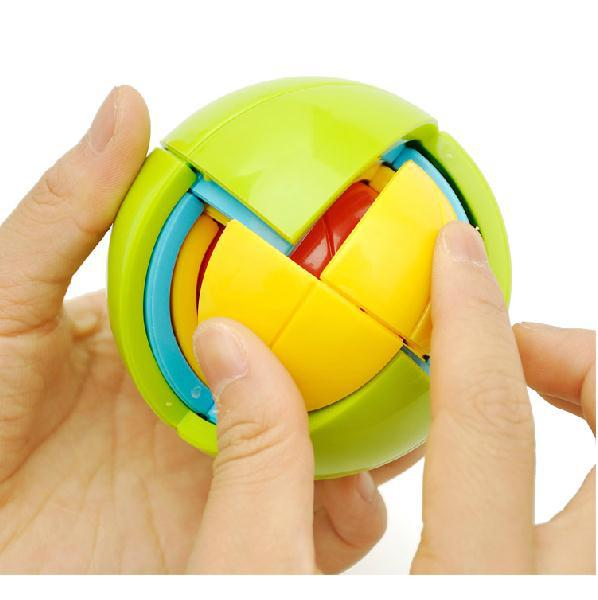 DIY Puzzle Ball 3D Brain Teaser Logical Puzzles Children Toys Standard Shipping(China (Mainland))