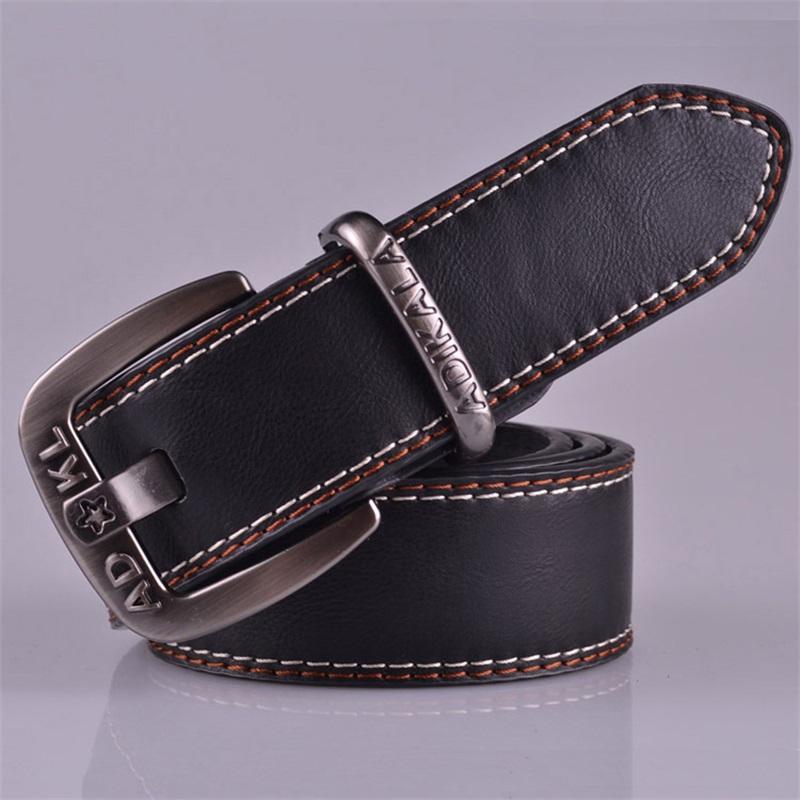belt new designer fashion buckle faux leather belt