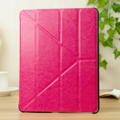 "4 Shapes PU Leather Case for ipad  4 3 2 9.7"" Smart Cover Sleep Function Stand Magnetic Fashion, Ultrathin Design Transformer"