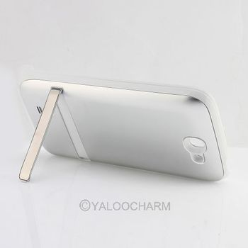 Free shipping! External 4200mAh White Back Battery Cover Charger Case  81188