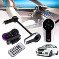 Free Shipping Car Kit MP3 Player Audio Wireless Stereo Bluetooth LCD FM Transmitter ME3L
