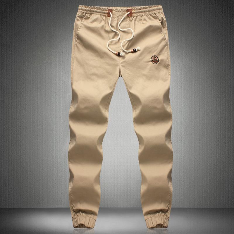 Fashion Men's Pants men fit Cotton jogger pants Casual style Sweatpants Trousers Asian Size:M~5XL - Factory HangZhou store