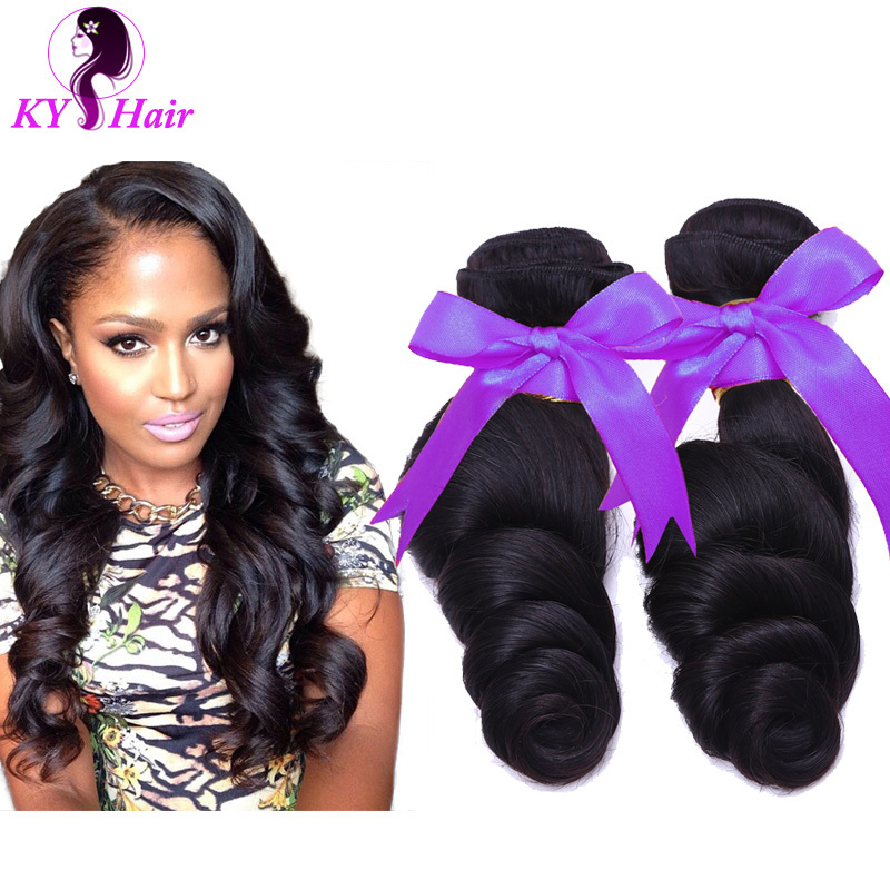 Cheap Indian Human Hair Magic Hair Products 6A Grade Indian Loose Wave 5 Pcs/Lot For Women 100 Unprocessed Indian Virgin Hair<br><br>Aliexpress