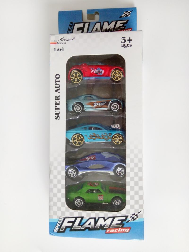 5PCs/Box Super Auto Model Mini Racing Alloy Chassis Model Mini Car Super Racing Model Car Gift For Kids(China (Mainland))