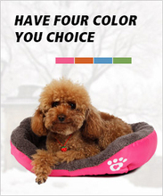 Free Shipping Pet Dog Bed Warming Dog House Soft Material Dog Cat Kennel Warm Winter for Dog Cat Pet Products 4 Colors(China (Mainland))