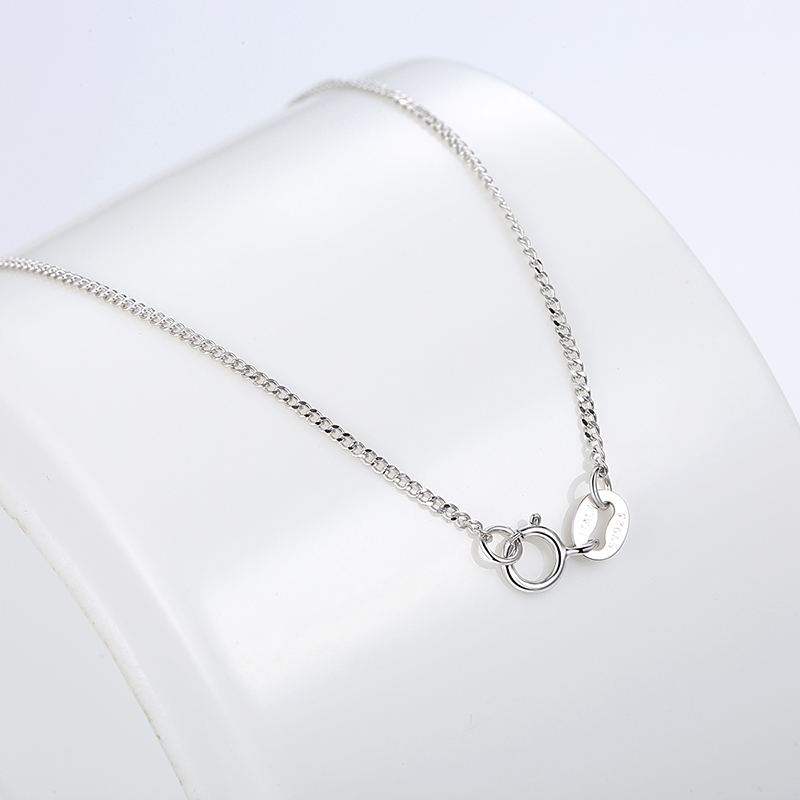2017 new gift letters chain necklaces women fashion pendants 925 sterling silver jewelry 100 wholesale