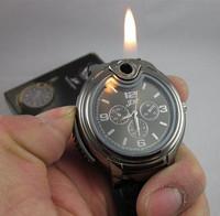 2015 Military Lighter Watch Novelty Man Quartz Sports Refillable Butane Gas Cigarette Cigar Men Watches Hot Sale Free Shipping