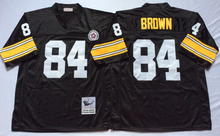 Pittsburgh Steeler Ben Roethlisberger Heath Miller Antonio Brown Throwback for mens(China (Mainland))