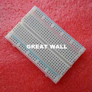 Quality mini bread board breadboard 8 5CM x 5 5CM 400 holes