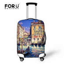 Travel Luggage Accessories Protective Elastic Stretch Covers Bags Mix-color  Waterproof Suitcase Cover For 18-30 inch Trunk Case(China (Mainland))