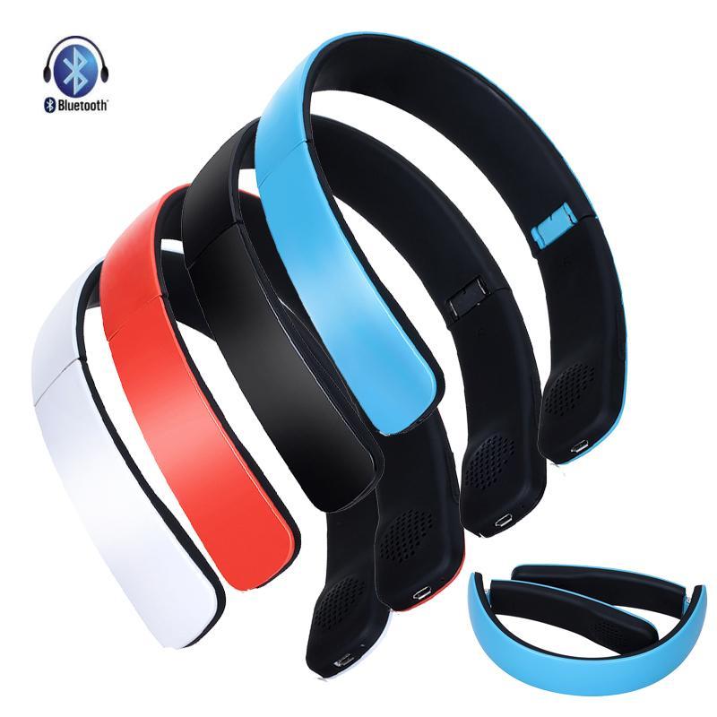 Wireless Bluetooth 4.0 Headphone Foldable Stereo Headset Handsfree Earphone Studio Music Earset for Android IOS Phone Tablet(China (Mainland))
