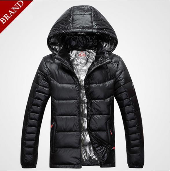 Free shipping Brand down jacket men winter jacket men Warm 90% duck down coat with foil jacket jaqueta masculina chaqueta hombre(China (Mainland))