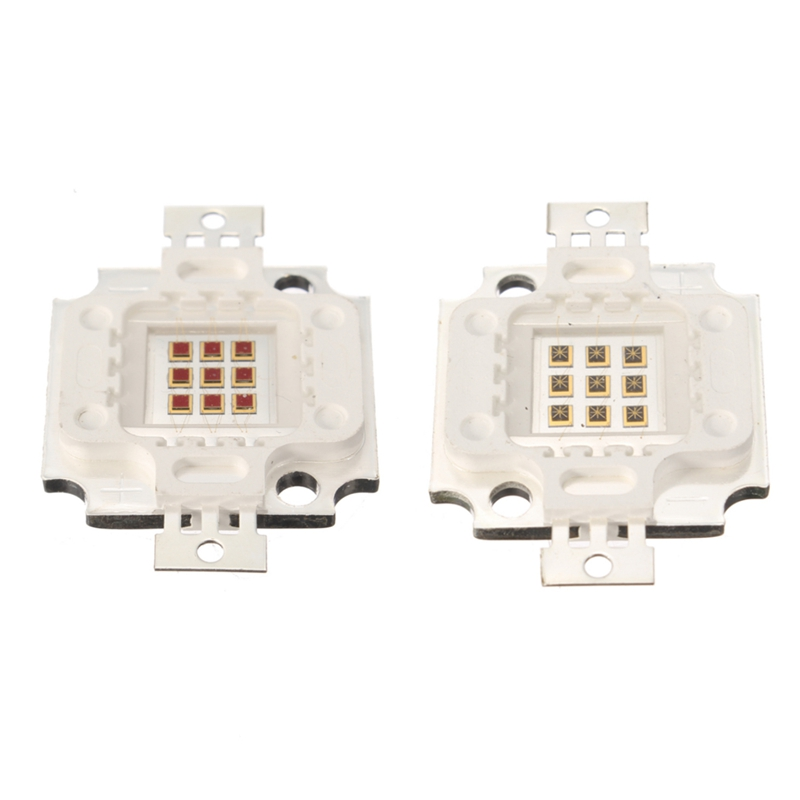 10W High Power LED Chip 730nm 940nm IR LED Infrared Emitter Lamp LED Light Beads(China (Mainland))