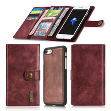 Buy High Vintage Synthetic Leather Phone Case Apple iPhone 7 4.7 inch Luxury Back Case Cover Wallet Design New for $18.98 in AliExpress store