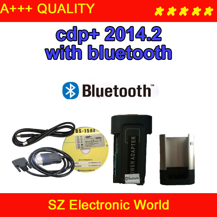 2014.3 CDP Pro Bluetooth free active cars & trucks + LED Cable - SZ Electronic World store
