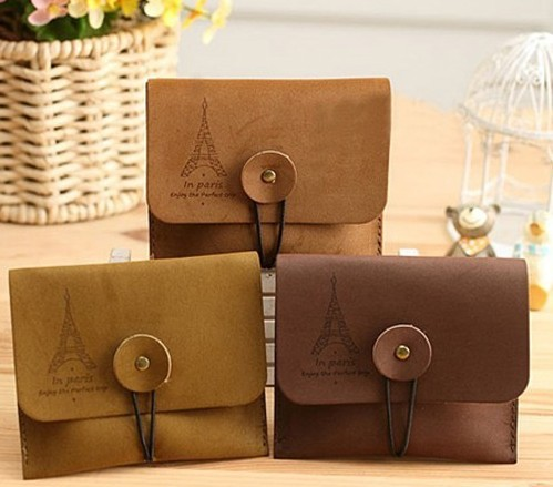 Coin Purses Bag Key Fashion Accessories NEW Arrival Hot Creative Tower PU Skin Wallets Designer Women Vintage Bag(China (Mainland))