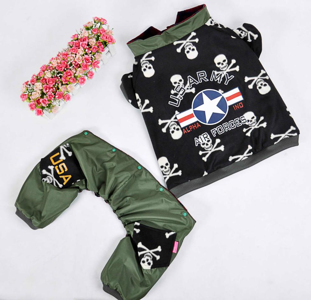 Free Shipping Big Dog Designer Clothes Camouflage Pattern