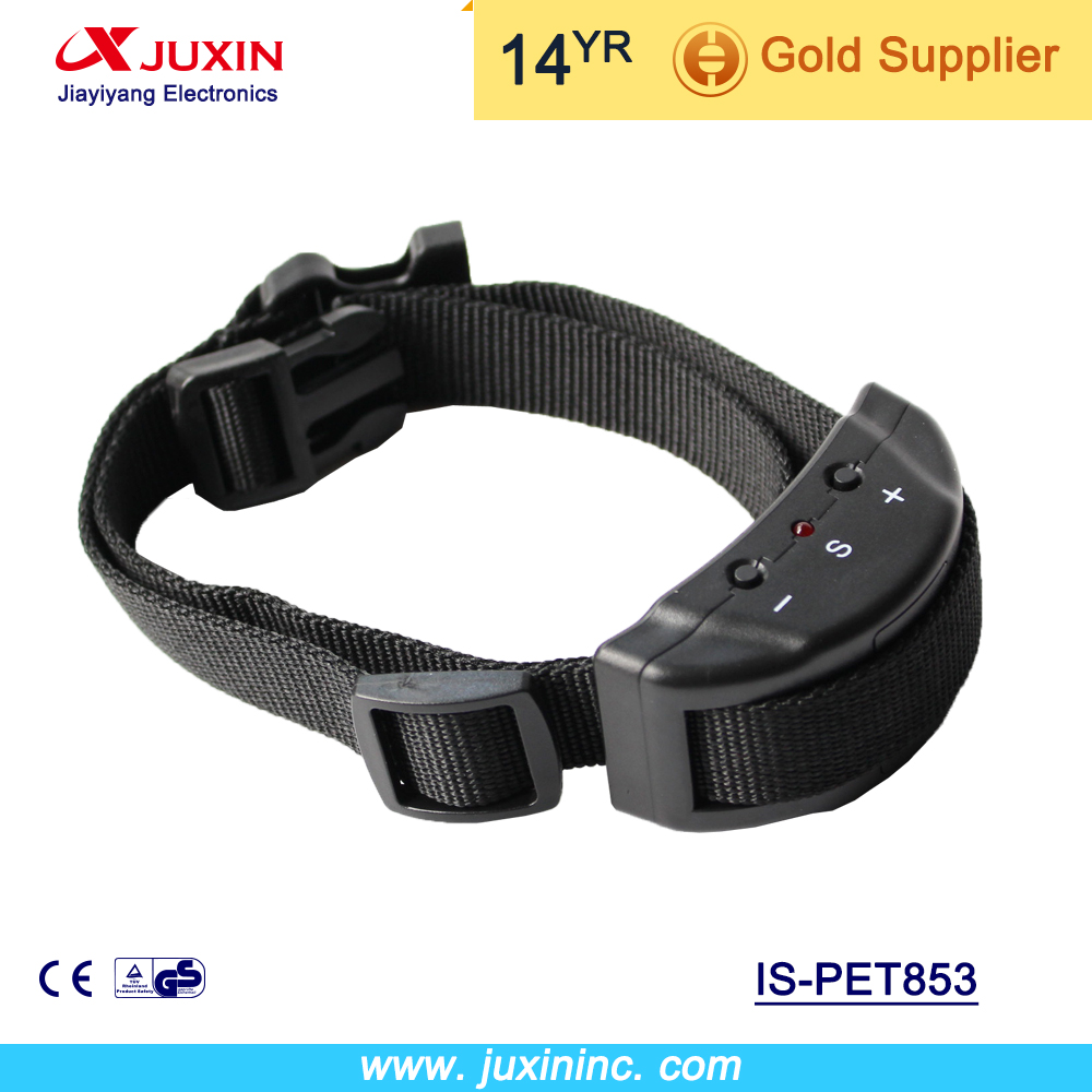 Petrainer 853 Newest Free Shipping Dog Agility Product Anti Bark Dog Training Collar No Bark Collar electric dog collar(China (Mainland))