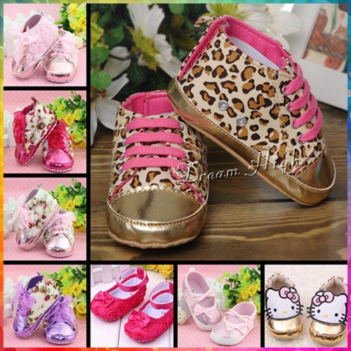 Leopard Infant girl shoes booties for children christmas cheetah Baby zapatos de bebe antiskid Sequins sport prewalker Sneakers(China (Mainland))