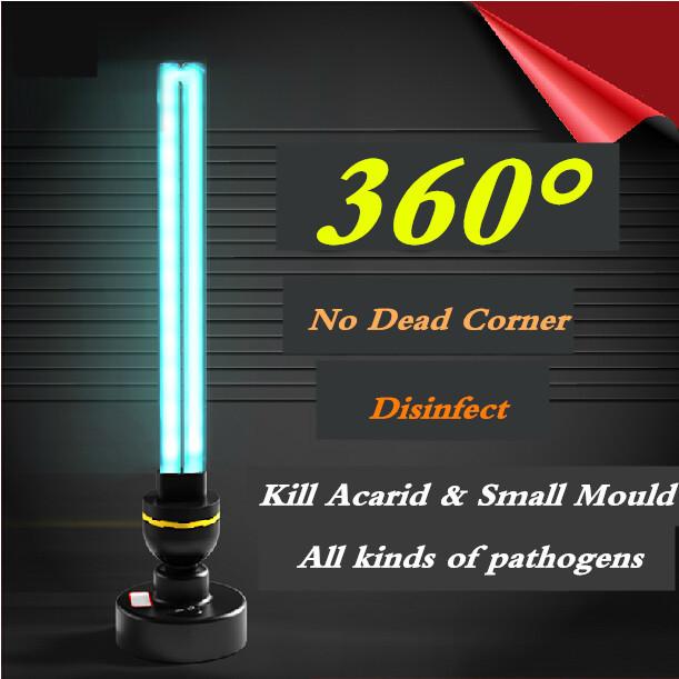 40W Household Ultraviolet Lamp , Ozone UV Disinfection lamp , UV Germicidal Lamp , 0-55 sq.m. Sterilizing lamp(China (Mainland))