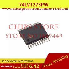 Voltage Regulator 74LVT273PW,112 IC 3.3V OCTAL D FF 20TSSOP 74LVT273PW LVT273 74LVT273 2 - Chips Store store