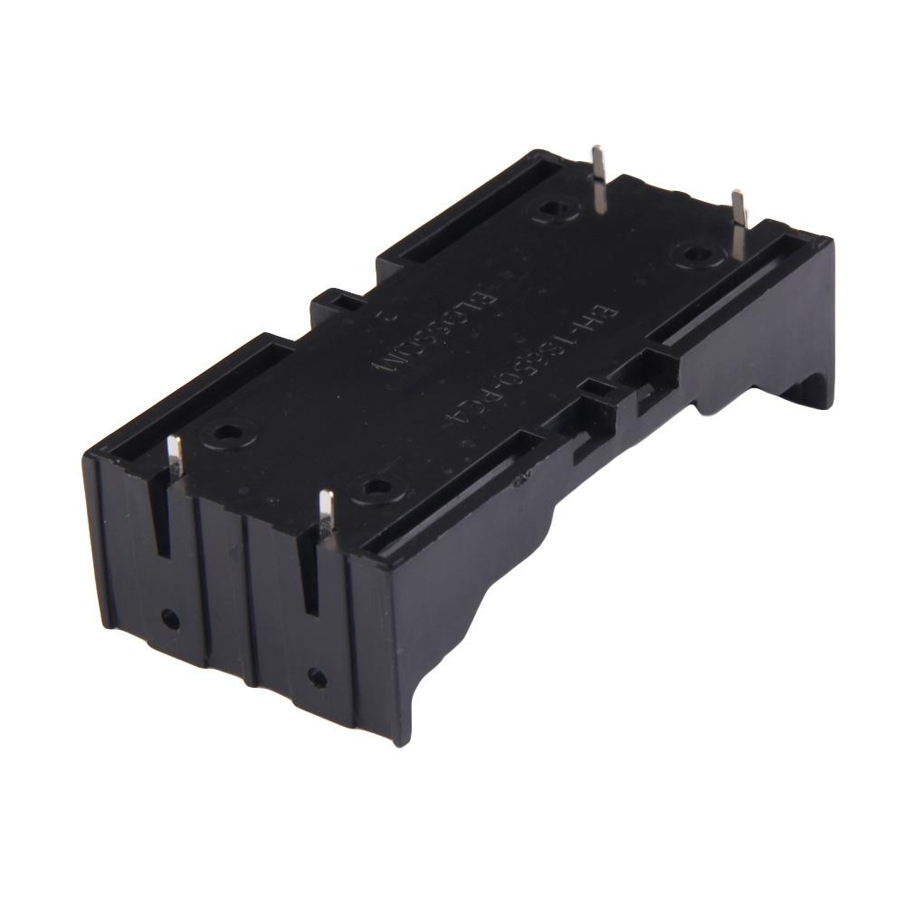 image for 2x Battery Box Holder Batteries Case For 18650 In Parallel 3.7V Pole B