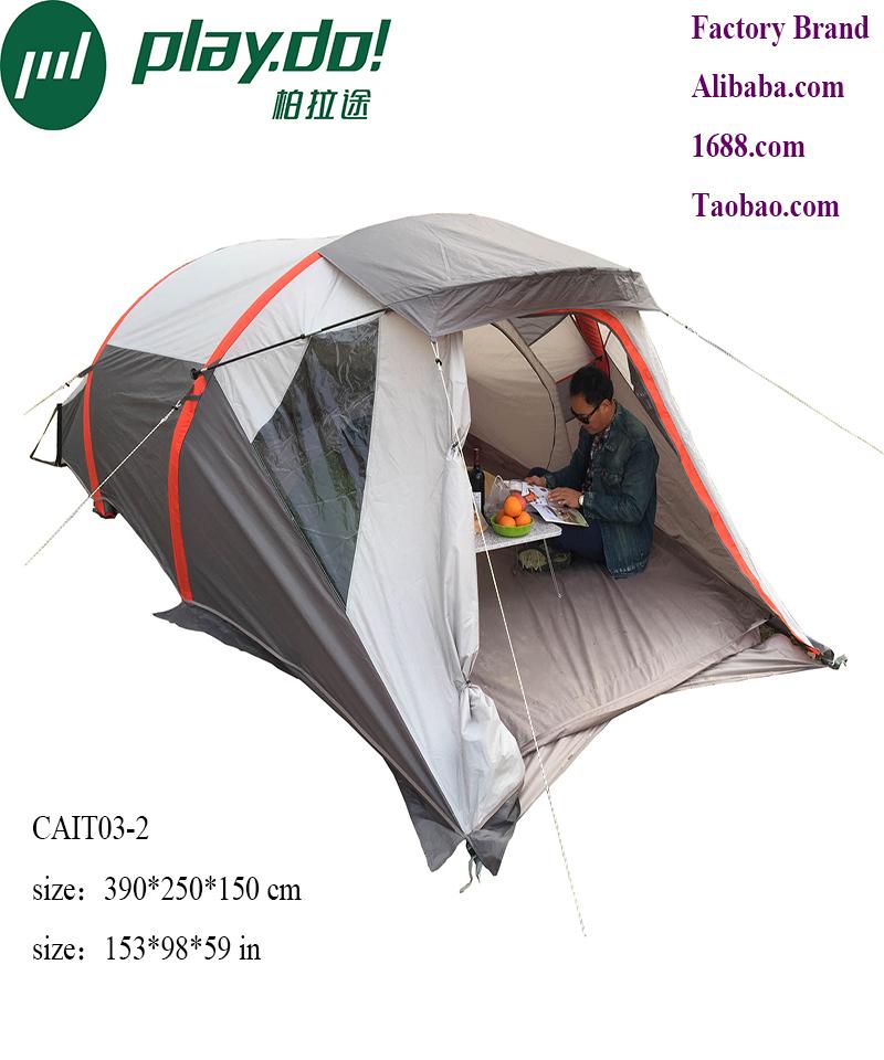 Playdo inflatable large camping tent carpas tienda de acampar tendas de campismo campeggio 2 posti naturehike OEM allow bargain(China (Mainland))