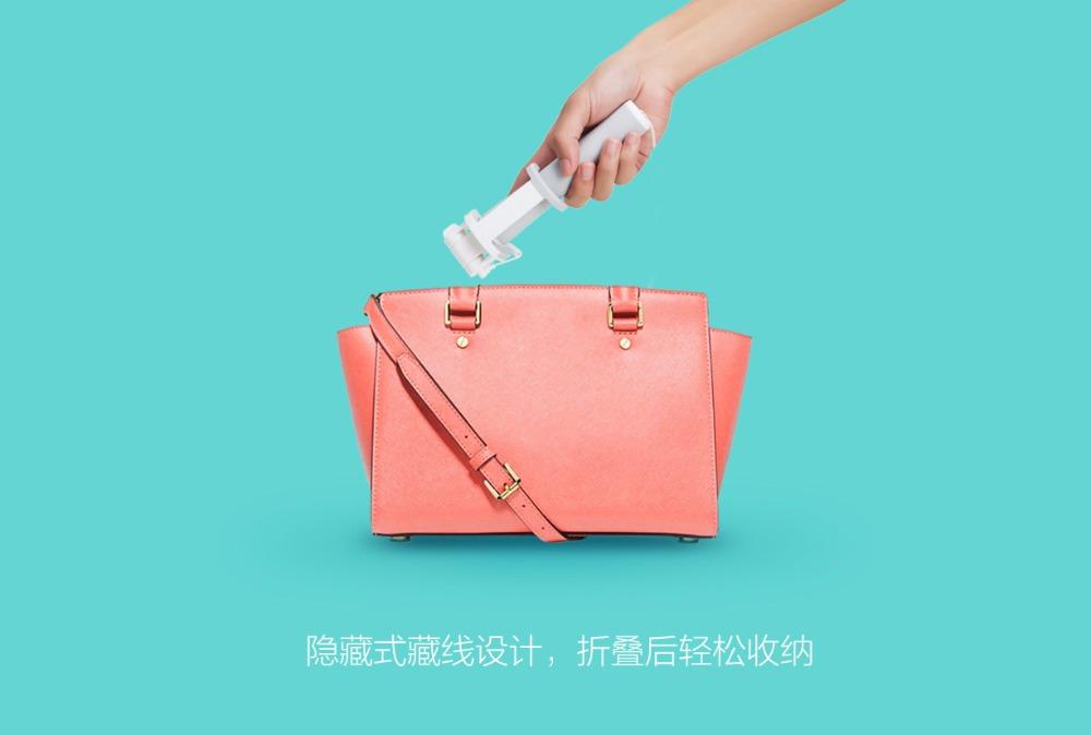 Оригинальный Xiaomi Mi проводной селфи палка Plug and Play удобный легкий складной pic_005