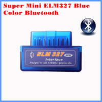 2015 New version diagnostic tool code reader V1.5 blue color super mini ELM327 Bluetooth OBD-II OBD