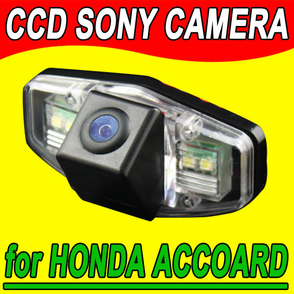 For Sony CCD Car rearview backup reverse camera Accord from 2008~2012 EK Odyssey AcuraTSX Pilot waterproof  parking superb(China (Mainland))