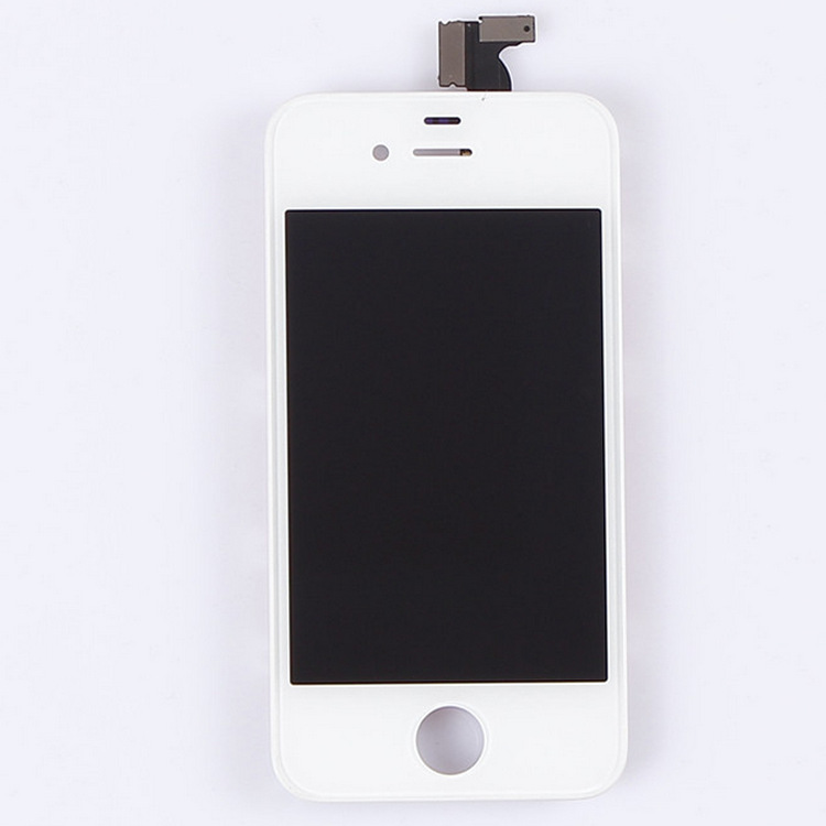 1PCS White / Black Outer Glass + LCD Display For iphone 4 4G Touch Screen Digitizer Assembly +Tools Replacement(China (Mainland))
